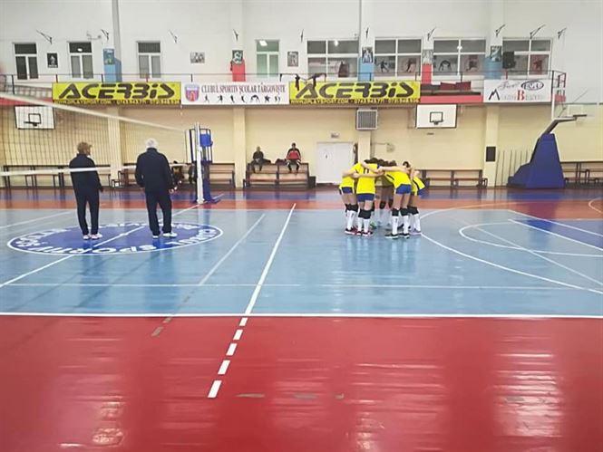 Sport Plus Brăila s-a oprit în faza semifinala a campionatului național de volei speranțe