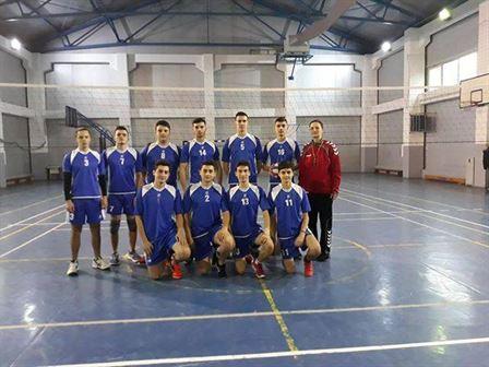 Băieții de la Liceul Nicolae Iorga au câștigat faza județeană a ONSS la volei