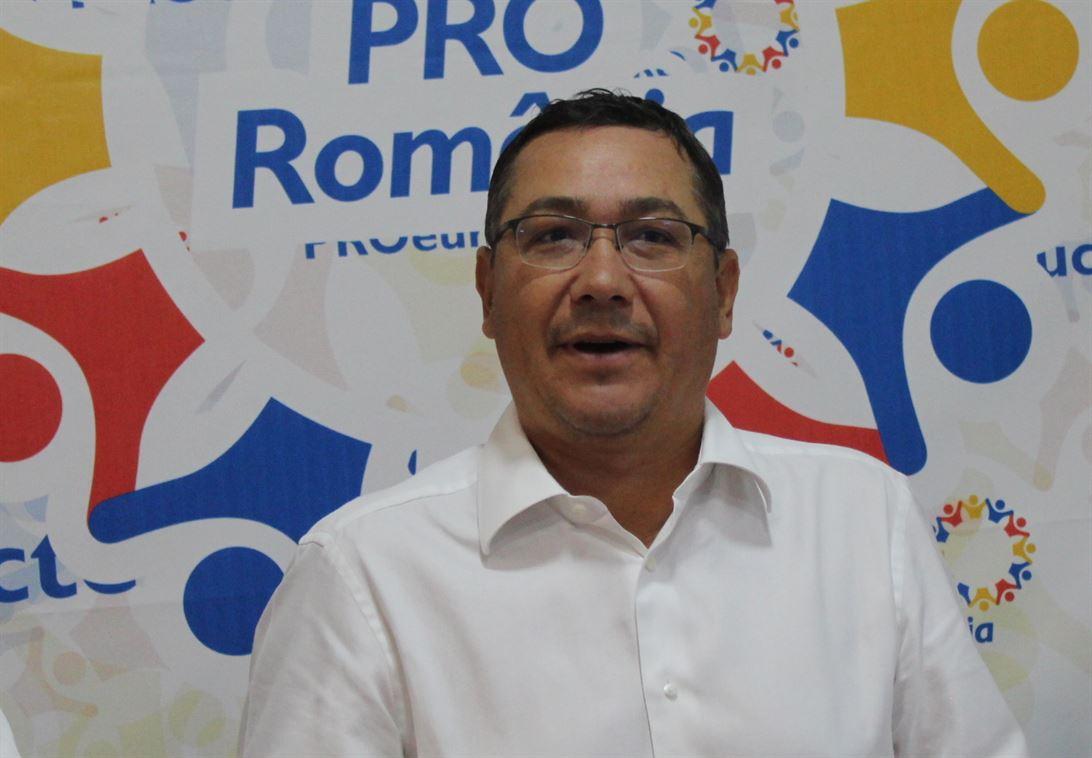 Victor Ponta se așteaptă ca Pro România să obțină mandate de consilieri județeni și locali la Brăila