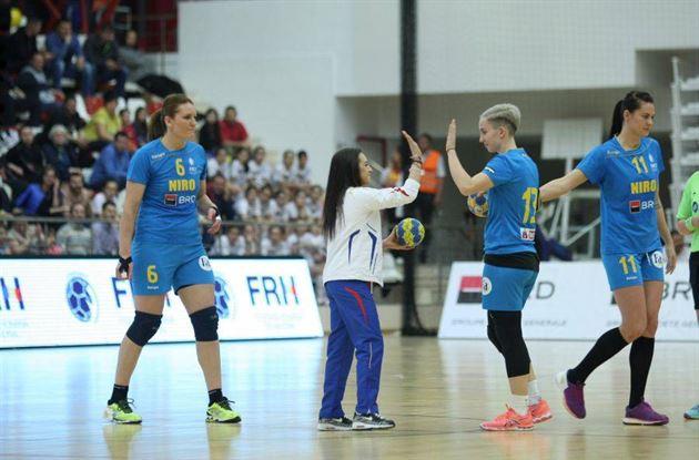 Romania, cu 5 handbaliste de la Dunarea Braila, a pierdut primul amical cu Spania