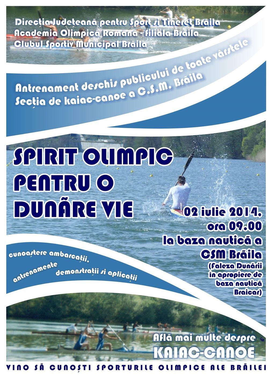 Programul manifestarilor dedicate Zilei Dunarii
