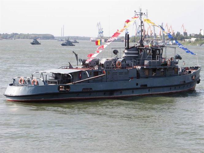 Flotila Fluvială organizează Ziua Marinei Române în trei orașe de la Dunăre